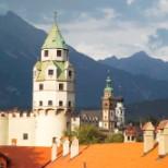 Burg Hasegg Außenansicht