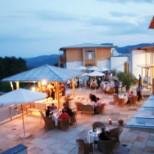 Terrasse im Seminarhotel Retter